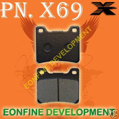 BRAKE PADS for YAMAHA YZF750 TDM TRX 850 XJ900 FZR1000