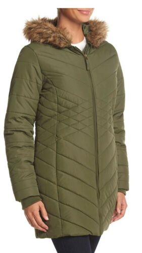 Quilted Winter Vestes Xl Nwt Green Zero Femme Taille Bellow Coats aaq1Z