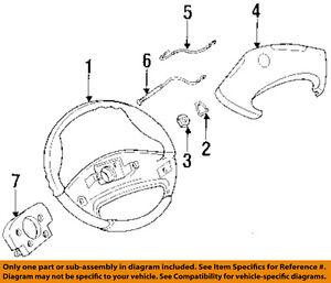 Excellent Gm Oem Steering Wheel Horn Wire Retainer 419454 Ebay Wiring Database Mangnorabwedabyuccorg