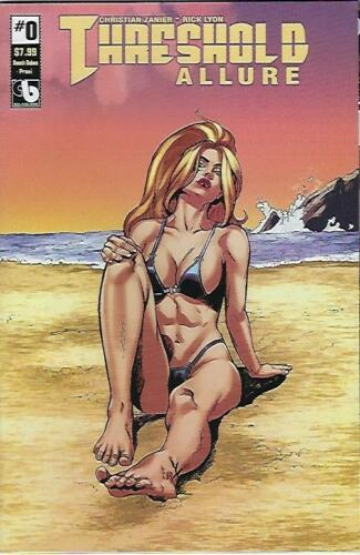 Threshold Allure #0 Beach Babes Limited Edition Praxi Cover ! NM