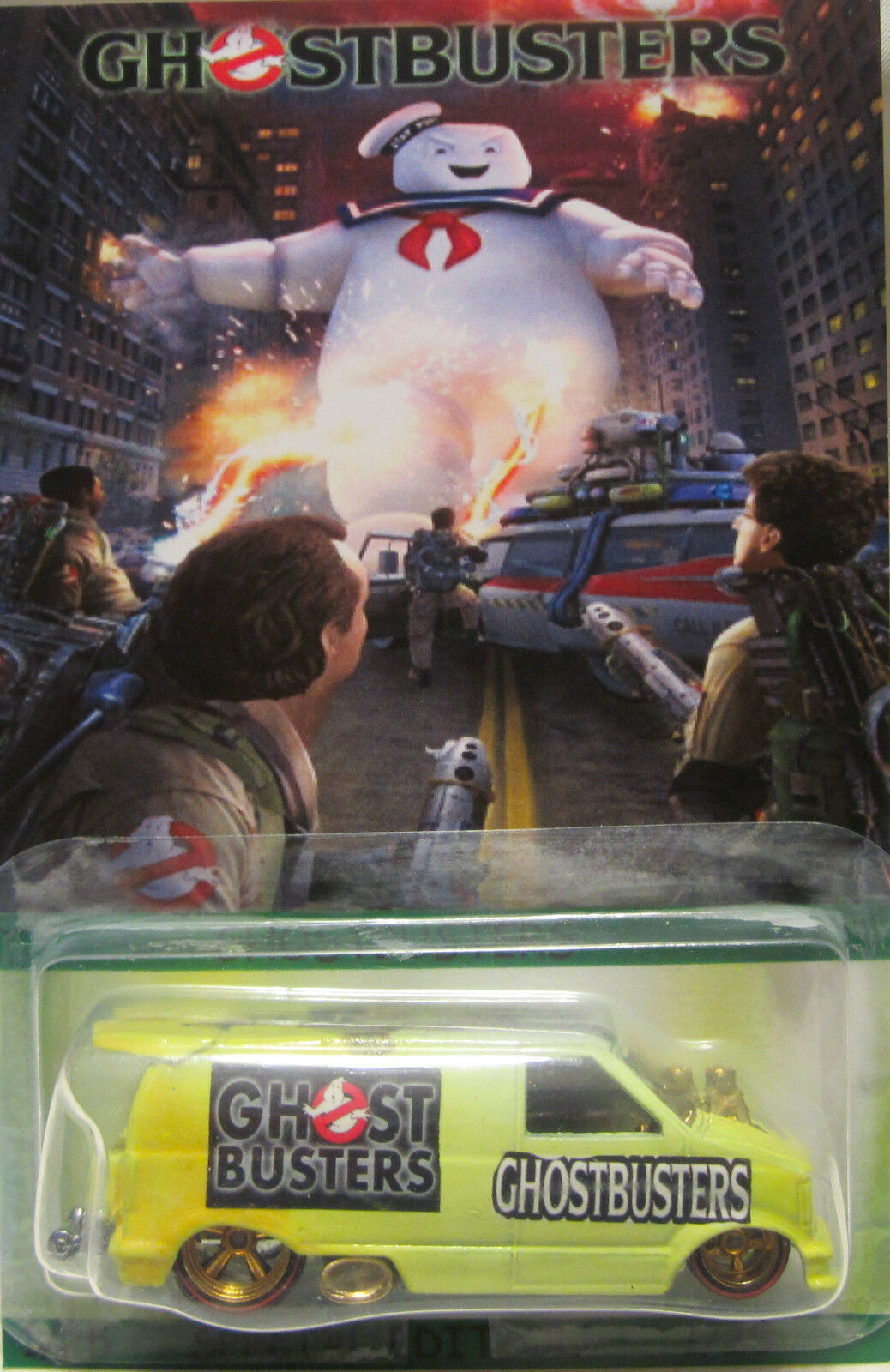 Hot Wheels CUSTOM '85 CHEVY ASTRO Ghostbusters Real Riders Limited 1 25 Made