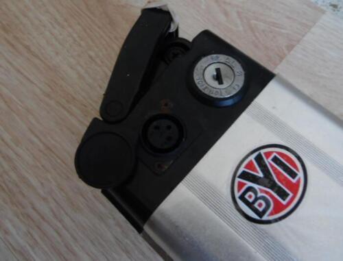 Electric bike lithium empty battery case 36V 48V alum 3 sizes .