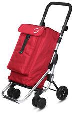 Carro de la compra plegable Playmarket Go Up Basic, 4 ruedas, bolsa...