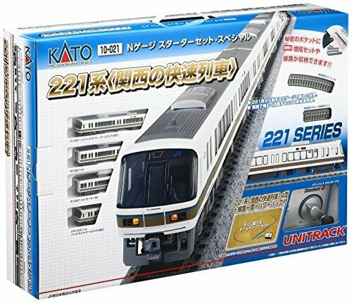NEW KATO N gauge Estrellater Set Special 221-based high-speed train 10-021