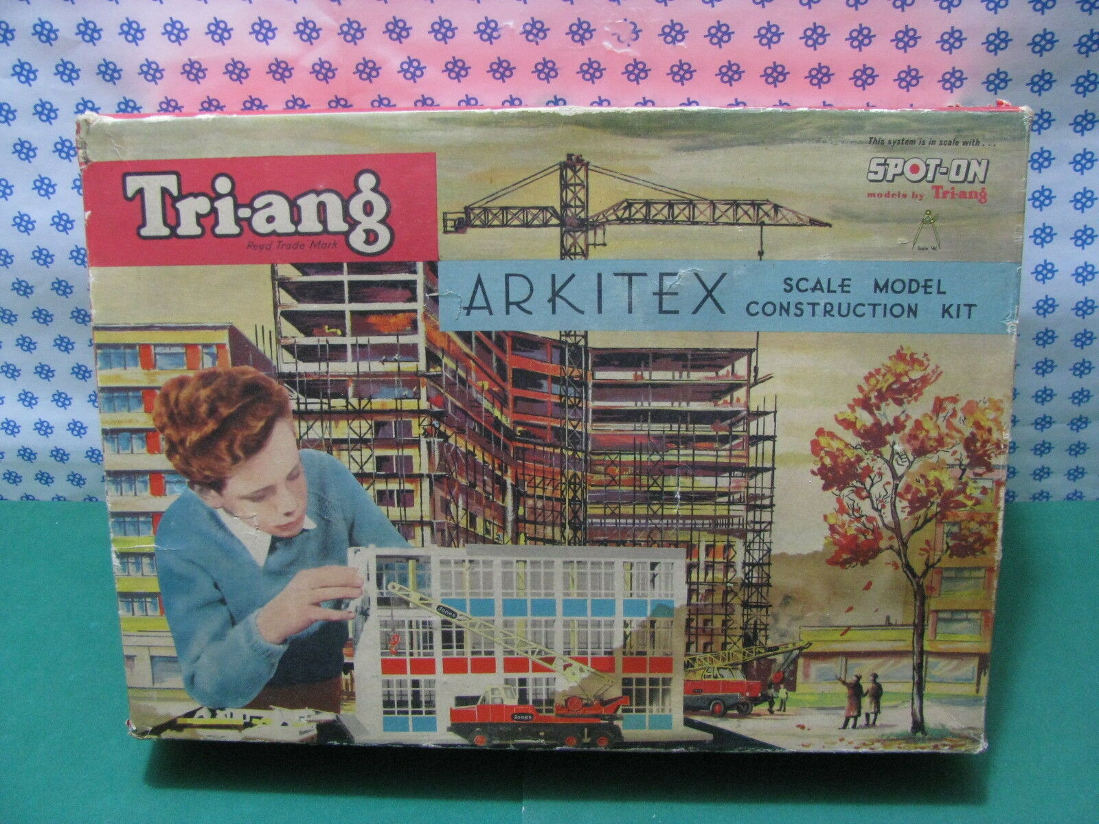 Spot-On by Tri-Ang Set N°2 - Arkitex Scale Model Construction Kit - 1 42 MIB