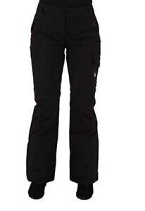 Spyder-Womens-Me-Athletic-Fit-Pants-Ski-Snowboarding-Pant-Size-8-Inseam-Long-31
