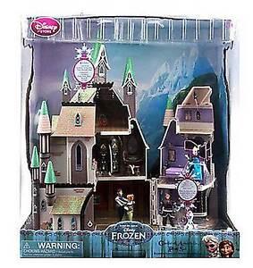 Disney Frozen Wooden Blocks Set Arendelle Castle Elsa And Anna