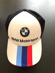 Cap Hat BMW Motorsport Team Merchandise PUMA Shell Sponsor White ... c278d7a014ae