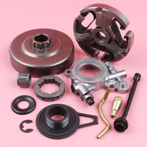 Clutch Drum Sprocket Oil Pump Service Kit For Husqvarna 362 365 371 372 Chainsaw