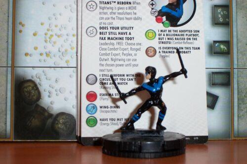 NIGHTWING # 010 Rebirth DC Heroclix Common