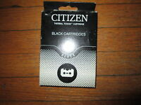 Genuine 2pack Citizen Black Cartridges Ra-37900-1s Fit Notebook Printer Ii