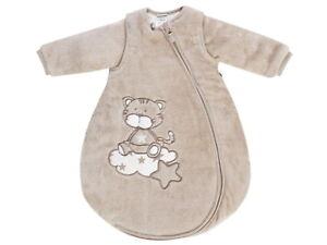Jacky Baby Jungen Mädchen Winter Schlafsack Gr 50-92 mit abnehmbaren Ärmeln