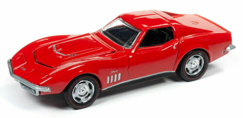1969 Chevrolet Corvette Stingray RED**RR** Racing Champions 1:64 OVP