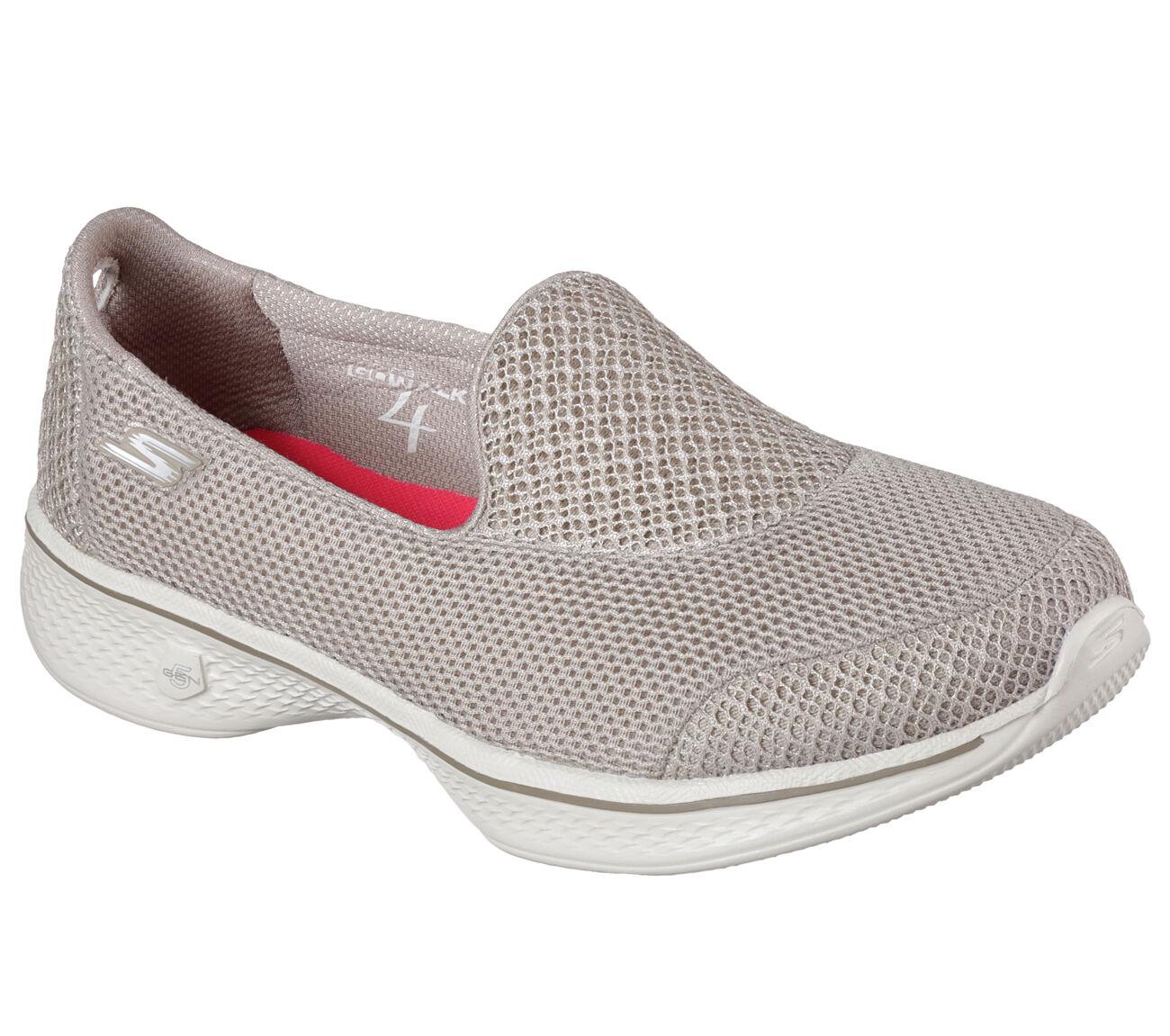 SKECHERS GOWALK scarpe 4 PRO 14170 TPE scarpe GOWALK donna sportive mocassino slip on tessuto 93c8ab