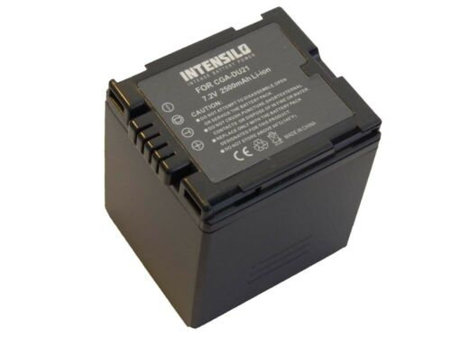 Batería 2500mAh para PANASONIC NV-GS180 GS-180 NVGS