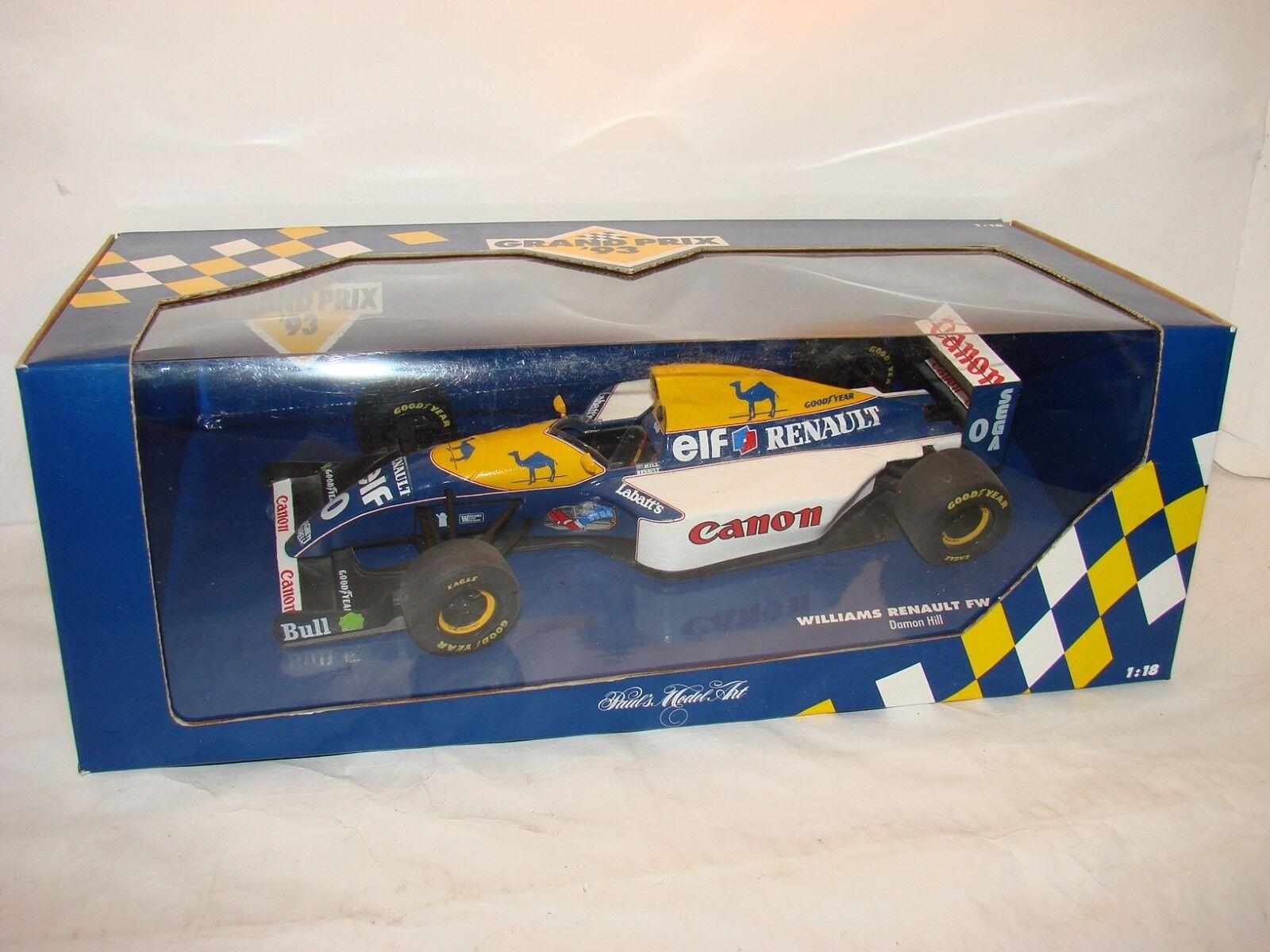 1   18 Williams - Renault Team 15, Temporada 1993, Damone Hill, campeón bnib