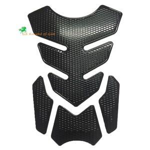Motorcycle Oil Gas Fuel Tank Pad Protector Carbon Fiber Pattern for Honda Ducati