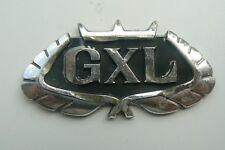 FORD GXL sigle embleme logo insigne monogramme de carrosserie MK aluminium