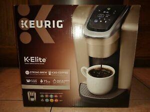 Keurig-K-Elite-Single-Serve-Coffee-Maker-K-Cup-Pod-Brewer-Machine-Brushed-Gold