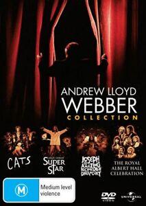 Andrew-Lloyd-Webber-Collection-DVD-NEW-CATS-JESUS-CHRIST-JOSEPH-ROYAL-ALBERT-R4