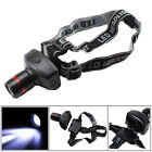 3W 500 Lumen CREE LED 3-Modes Zoomable Headlamp Head Torch Light Lamp Flashlight