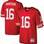 NFL Men/'s Montana Mitchell #16 San Francisco 49ers American Football Jersey