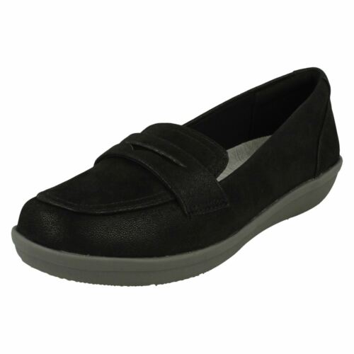 Form Styled Loafer Cloud Steppers Clarks Nero Ayla Shoes Di Ladies 8RCqW