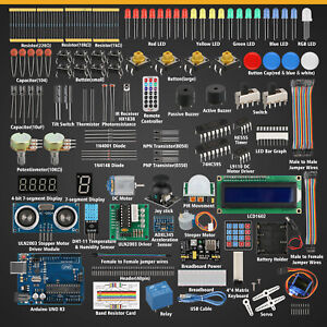 Professional-Ultimate-Starter-Learning-Kit-for-Arduino-UNO-R3-Servo-Processing