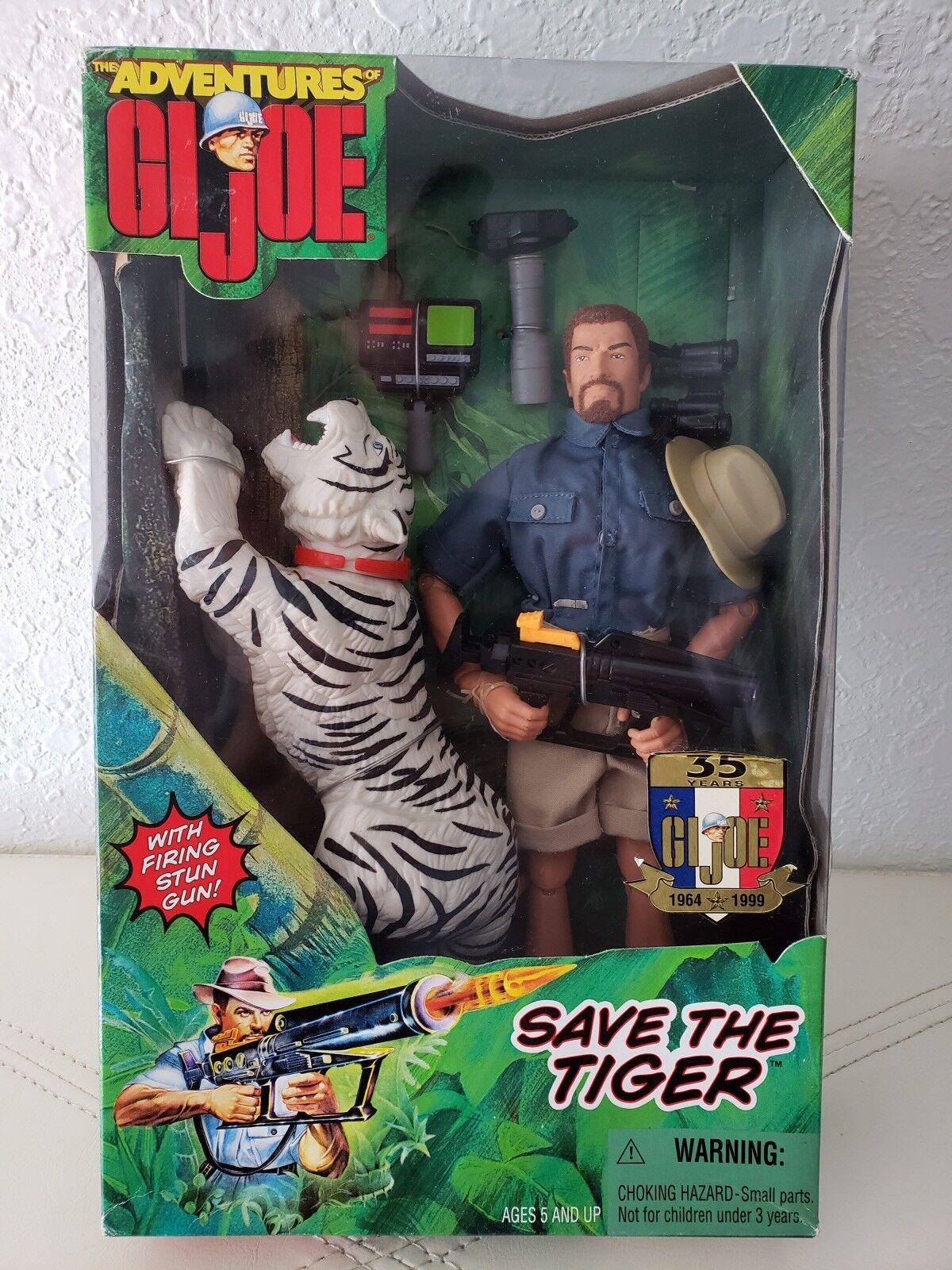 1998 Hasbro THE ADVENTURES OF GI JOE (Save The Tiger) Action Figure 12