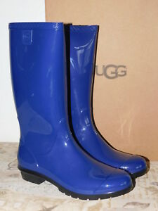 372fbb49f51 Details about NEW WOMENS SIZE 9 BLUE JAY UGG SHAYE 1012350 RAIN BOOTS  WATERPROOF BOOTS