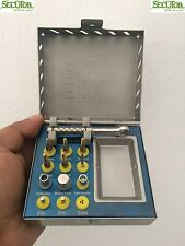 Dental Implant Kit with Sterilization Box ,12 Pcs Bone Expander Sinus Lift Kit