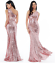 Goddiva-Long-Sequin-One-Shoulder-Evening-Maxi-Gown-Dress-Prom-Ball-Party-8-14 thumbnail 23