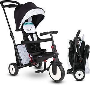 SmarTrike-STR5-Zoo-Kids-7-in-1-Compact-Folding-Stroller-Trike-Bunny-9-36-M-New
