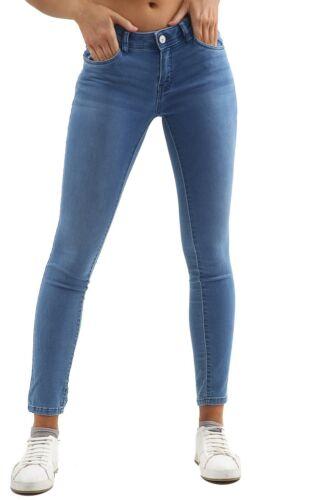 Da Donna Ex High Street Basso Aumento Elasticizzato Skinny Denim Jeans Da Donna Jeggings Pantaloni