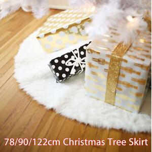 78 90 122cm weihnachtsbaum rock christbaumdekor pl sch. Black Bedroom Furniture Sets. Home Design Ideas