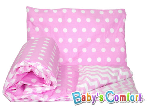 Baby/'s Comfort Teddy Dolls bedding set DUVET or QUILT /& PILLOW