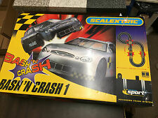 Scalextric Bash N Crash 1 C1077 Very Good Condition