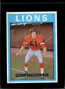 1972-O-PEE-CHEE-CFL-44-GEORGE-ANDERSON-EXMT-X2124