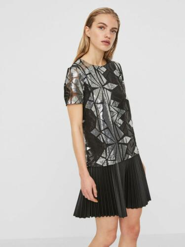 L Top Sequin Black May 15 12 Dh180 Ll Noisy Size Uk £36 Rrp Silver 5EwqYffIx1