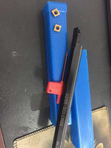 S20R-SCLCR09 HOLDER 2pcs CNC 20x200mm CNC inserts + CCMT09T304-PM