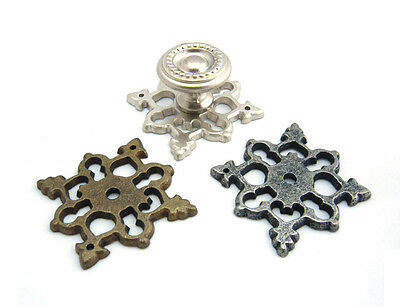 Decorative Back Plate for Drawer Pulls Cupboard Handle Cabinet Knobs - BP003