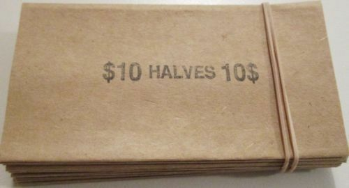 COIN WRAPPERS Quarter Dime 100 Penny Nickel or Custom Mix