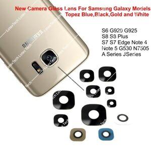 Verre-Veritable-Objectif-Appareil-Photo-Piece-pour-Samsung-Galaxy-S5-S6-S7