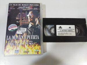 LA-NEUVAINE-PORTE-JOHNNY-DEEP-LENA-POLANSKI-HORREUR-TERREUR-VHS-BANDE-CASTILLAN