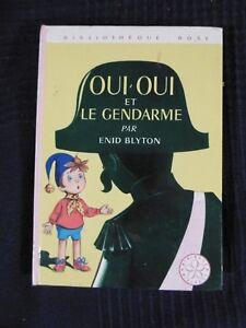 Details Sur Livre Bibliotheque Rose Oui Oui Et Le Gendarme Par Enid Blyton Hachette