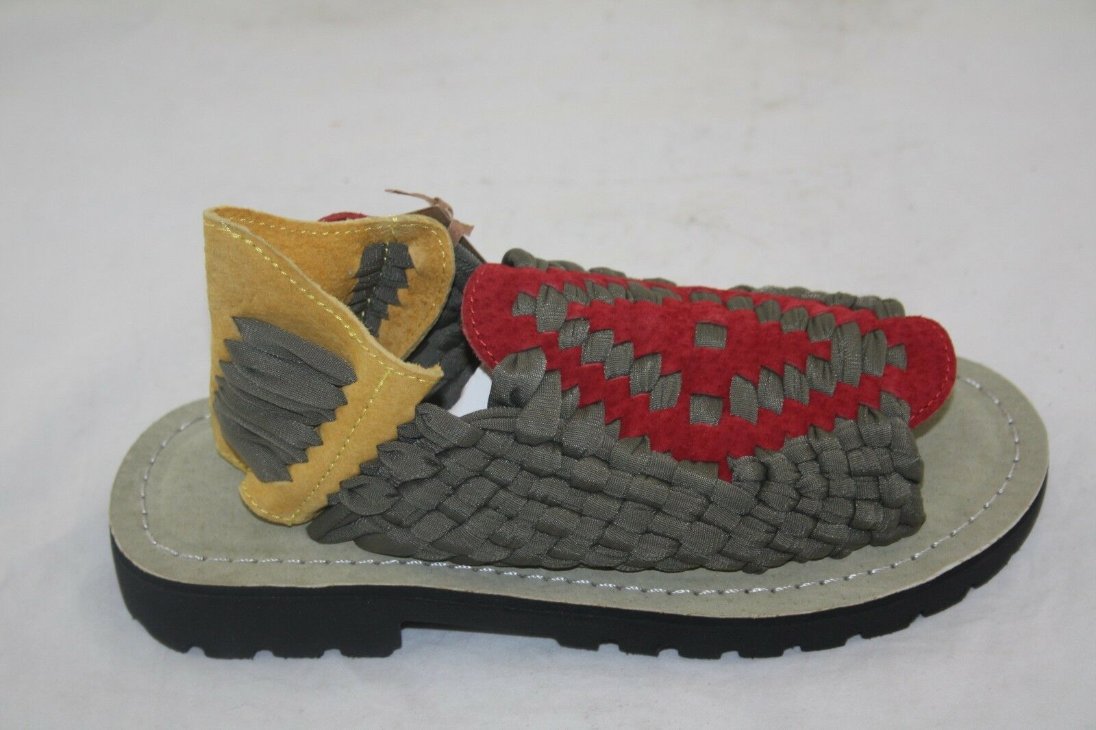 MEN'S CHUBASCO HAND MADE IN MEXICO CH-AZTEC NYLON OLIVE RED YELLOW GREEN