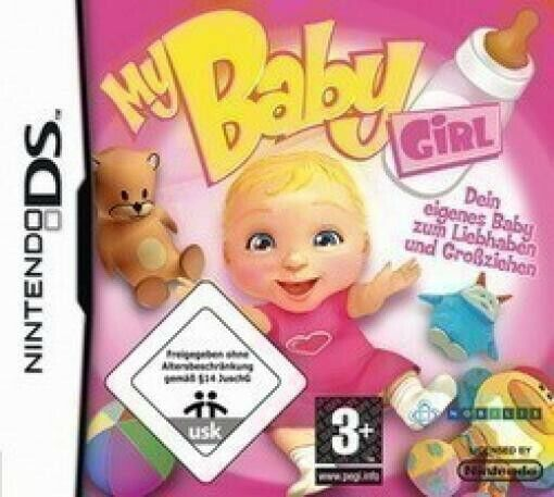 Nintendo DS game - My Baby Girl boxed