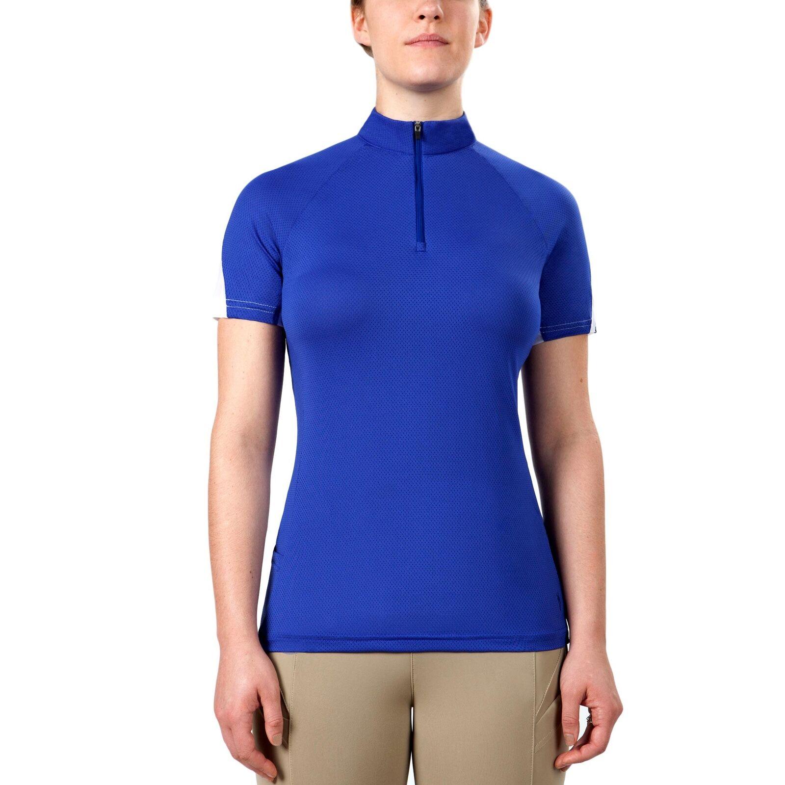 Irideon Wouomo DriLux Icefil Short Sleeve Lightweight Jersey Riding Shirt