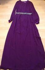 BNWT��Coast��Size 8 Magenta Anise Long Sleeve Maxi Prom Dress Wedding Bridesmaid