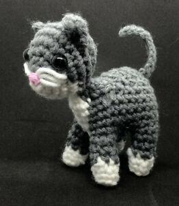 KITTY CAT doll toy handmade Crochet Amigurumi